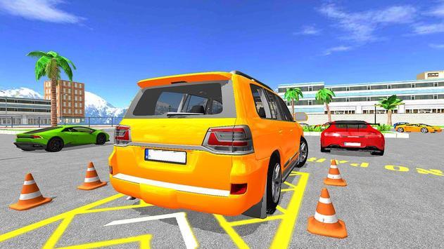 Modern Reverse Jeep Car Parking Master poster