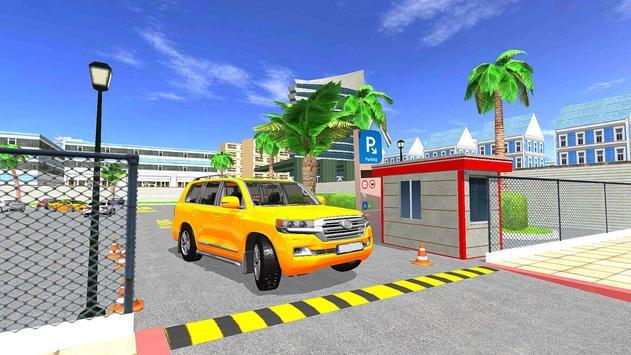 Modern Reverse Jeep Car Parking Master screenshot 1