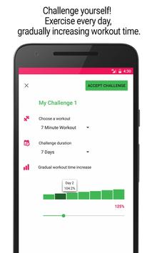 Home Workout - 30 Day Fitness Challenge screenshot 3
