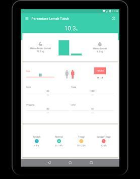 Berat Badan Ideal (IMT, BMI) screenshot 11