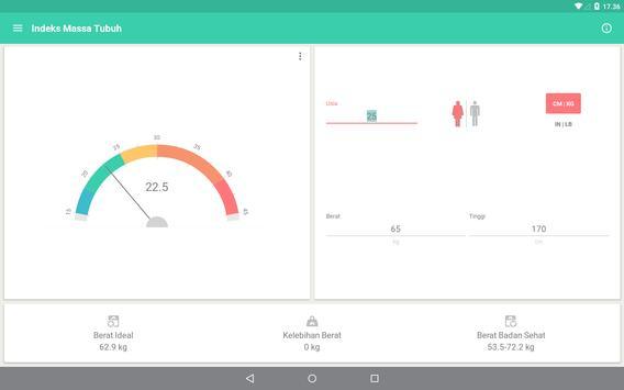 Berat Badan Ideal (IMT, BMI) screenshot 9