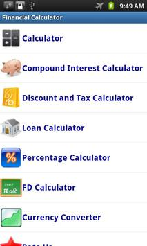 Financial Calculator poster