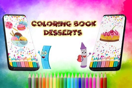 Coloring Book Desserts poster
