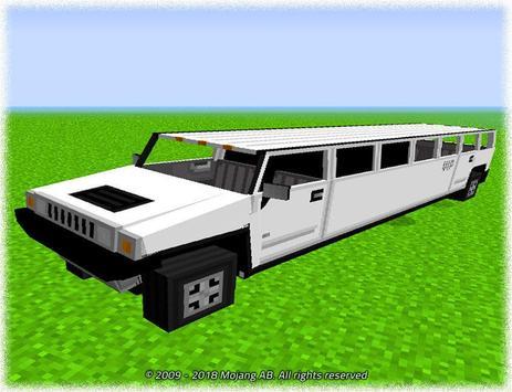 Cars for Minecraft PE Mod screenshot 2