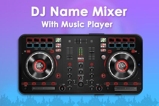 DJ Name Mixer poster