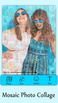 Mosaic Photo Collage - amazing mosaic effect poster