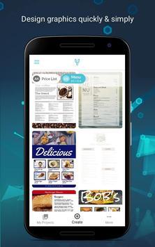 Price List & Menu Maker for Cafés and Restaurants poster