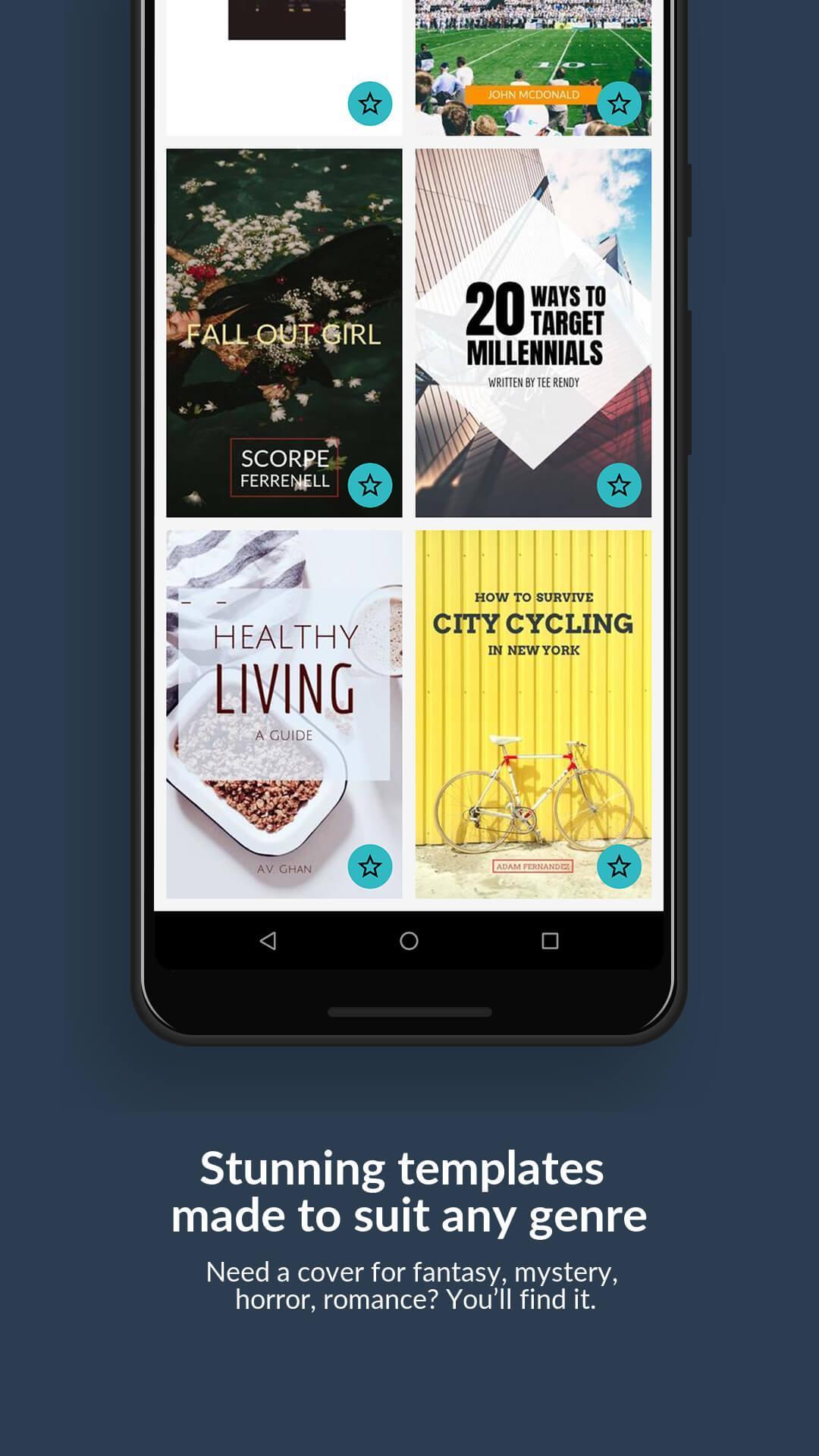 Generateur De Couverture Livre Wattpad Desygner Pour Android