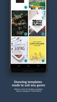 Book Cover Maker by Desygner for Wattpad & eBooks screenshot 2