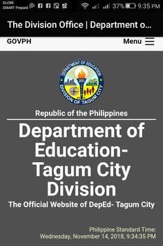 DepEd Tagum City screenshot 1