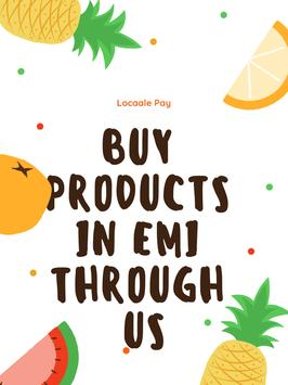 Locaale Pay - EMI for Local Stores poster