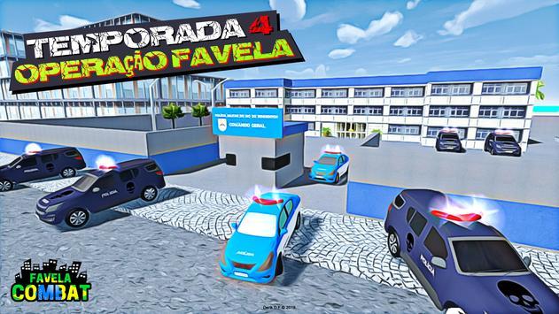 Favela Combat plakat