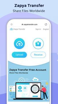 Zapya screenshot 2