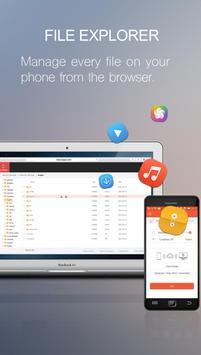 Zapya WebShare - File Sharing in Web Browser screenshot 1