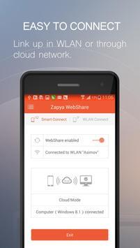 Zapya WebShare - File Sharing in Web Browser screenshot 3