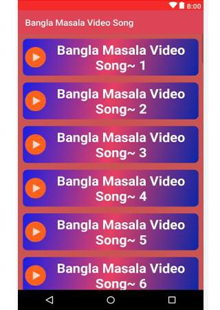 Bangla masala video song for android apk download.