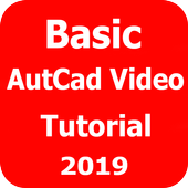 Easy Basic  AutoCad Video Tutorial icon