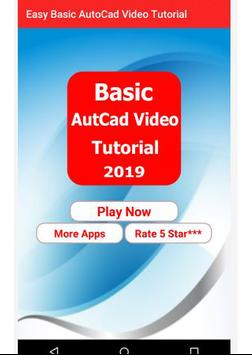 Easy Basic  AutoCad Video Tutorial screenshot 1