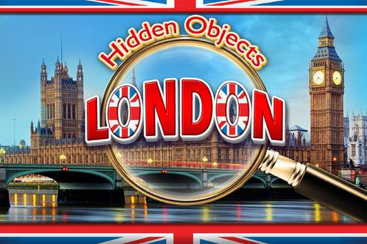 Hidden Object London Adventure - Spot Objects Game poster