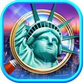 Hidden Objects New York City Puzzle Object Game icon