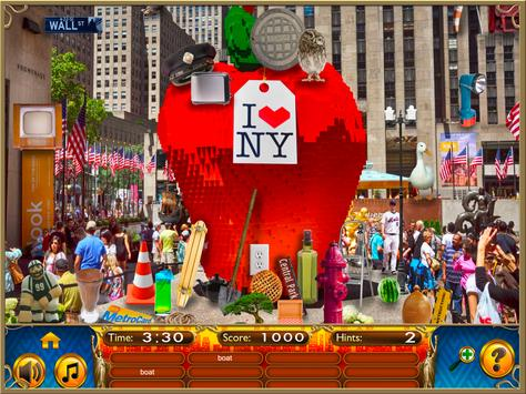 Hidden Objects New York City Puzzle Object Game screenshot 6