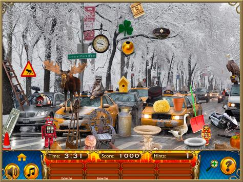 Hidden Objects New York City Puzzle Object Game screenshot 8