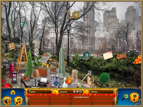 Hidden Objects New York City Puzzle Object Game screenshot 9