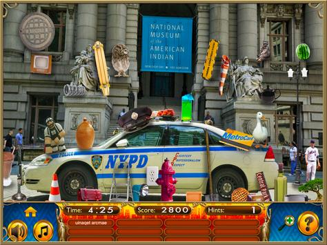 Hidden Objects New York City Puzzle Object Game screenshot 10