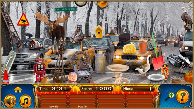 Hidden Objects New York City Puzzle Object Game screenshot 14
