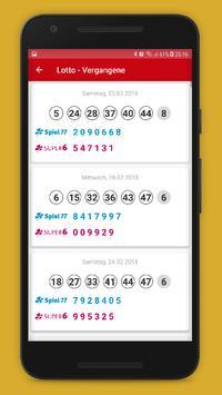 Lottozahlen Deutschland screenshot 4
