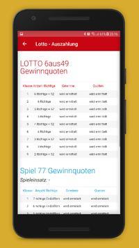 Lottozahlen Deutschland screenshot 5