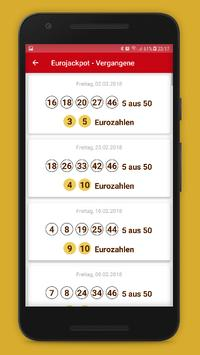 Lottozahlen Deutschland screenshot 6