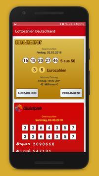 Lottozahlen Deutschland screenshot 1
