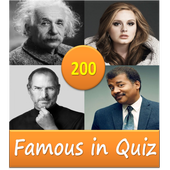 200 famous personalities of world   Quiz icon