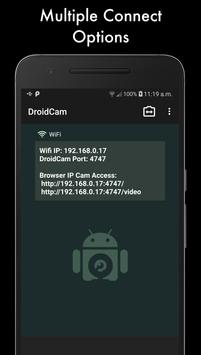 DroidCam screenshot 1