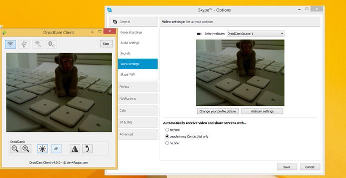 DroidCam تصوير الشاشة 2