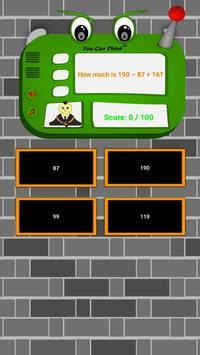 School Learning Quiz Assassination Classroom screenshot 1