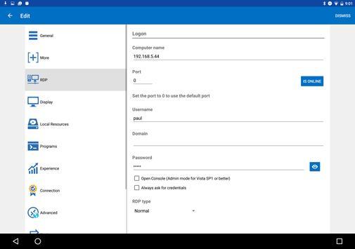 Remote Desktop Manager скриншот 8