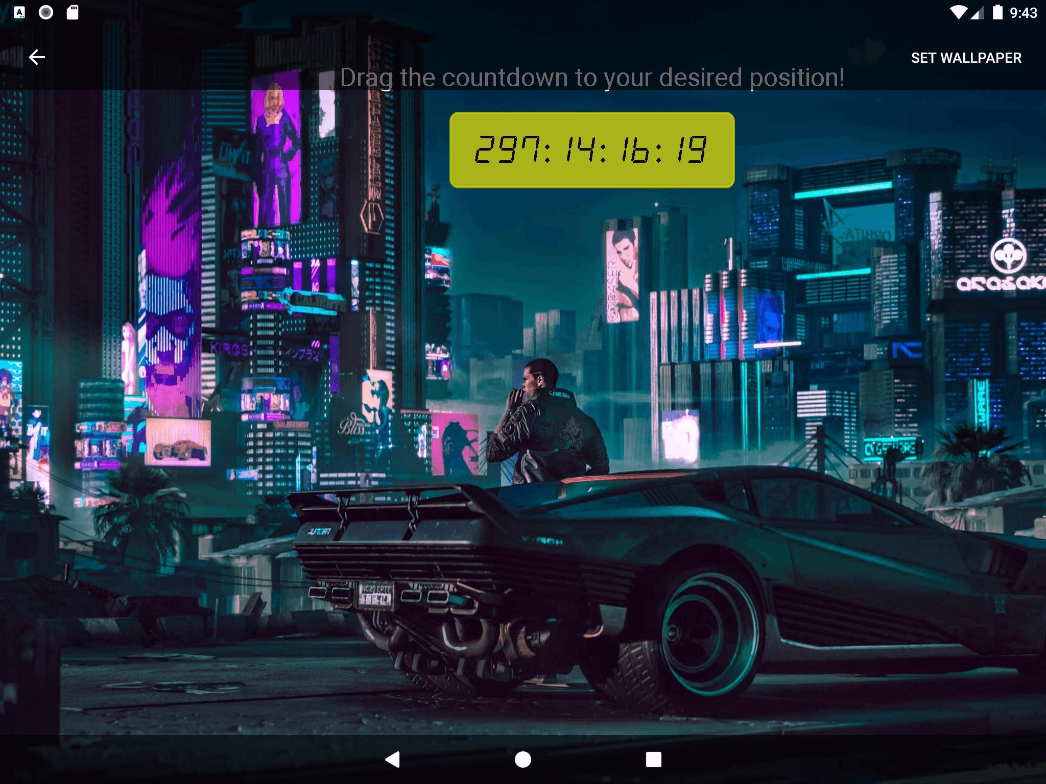 Cyberpunk 2077 Subway Map.Unofficial Cyberpunk 2077 Countdown Live Wallpaper For Android Apk
