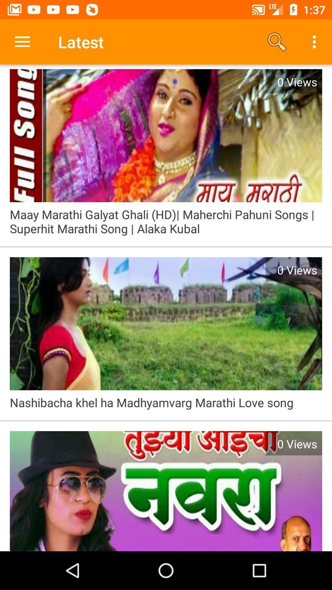 Marathi Videos - Marathi Songs, Comedy with DJ for Android - APK Download