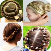 Girl Hairstyle Tutorial: Natural Beauty icon