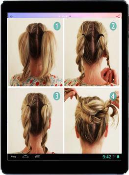 Girl Hairstyle Tutorial: Natural Beauty screenshot 3
