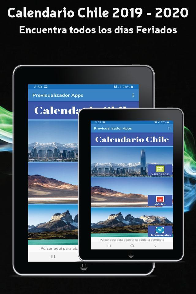 Calendario 2020 Chile Feriados.Calendario 2019 For Android Apk Download