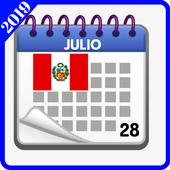 Calendario 2019 icon