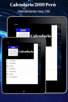Calendario 2019 screenshot 8