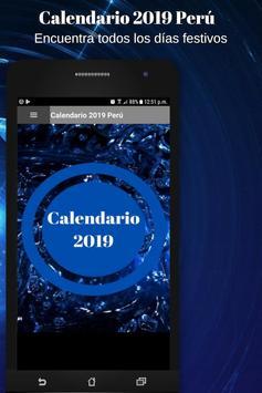 Calendario 2019 poster