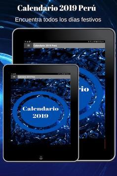 Calendario 2019 screenshot 14