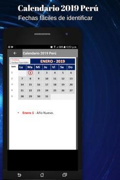 Calendario 2019 screenshot 3