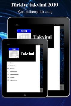 Türkiye takvimi 2019 screenshot 15