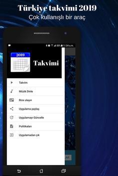 Türkiye takvimi 2019 screenshot 1
